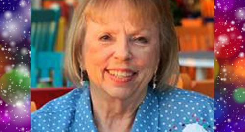Photo of December Events Committee founding member Jo Ann Edge