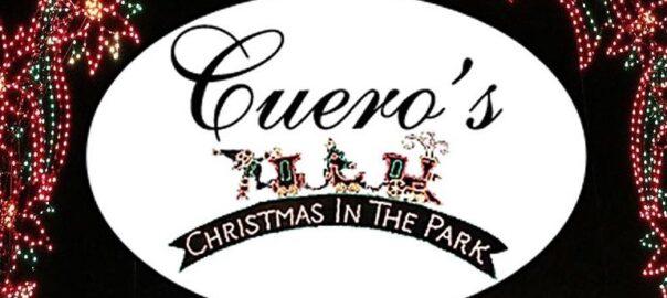 Cuero's Christmas in the Park logo